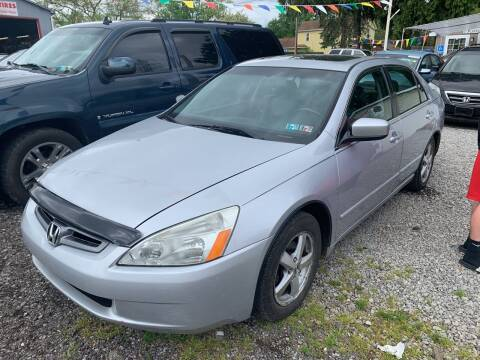 2005 Honda Accord for sale at Trocci's Auto Sales in West Pittsburg PA