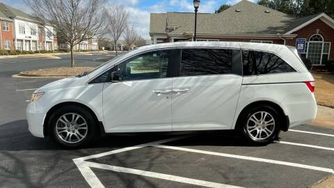 2012 Honda Odyssey for sale at A LOT OF USED CARS in Suwanee GA