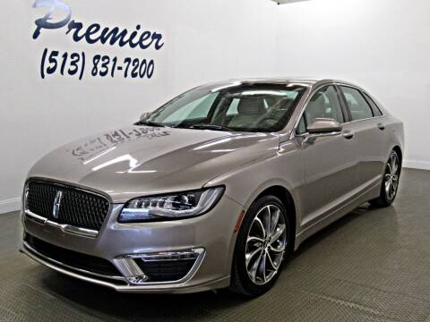 2019 Lincoln MKZ Hybrid for sale at Premier Automotive Group in Milford OH