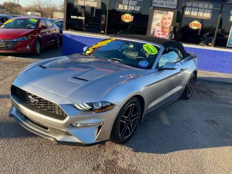 2020 Ford Mustang for sale at Cow Boys Auto Sales LLC in Garland TX