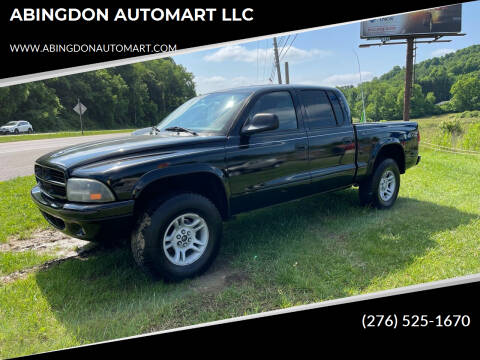 2002 Dodge Dakota for sale at ABINGDON AUTOMART LLC in Abingdon VA