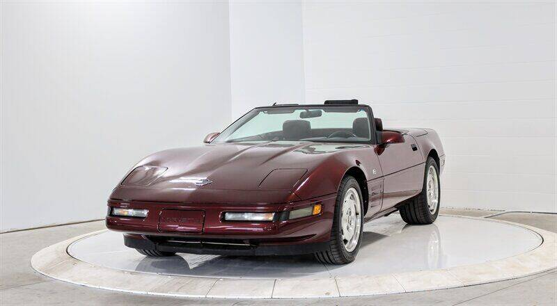 1993 Chevrolet Corvette for sale at Mershon's World Of Cars Inc in Springfield OH