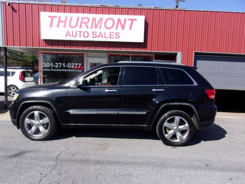 2011 Jeep Grand Cherokee for sale at THURMONT AUTO SALES in Thurmont MD