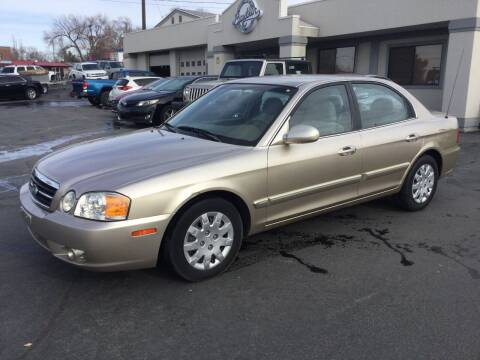 2004 Kia Optima for sale at Beutler Auto Sales in Clearfield UT