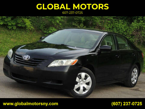 2007 Toyota Camry for sale at GLOBAL MOTORS in Binghamton NY