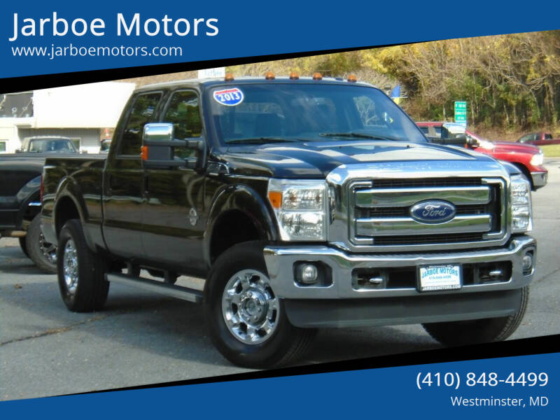 2013 Ford F-250 Super Duty for sale at Jarboe Motors in Westminster MD