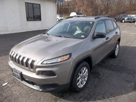 2017 Jeep Cherokee for sale at MINK MOTOR SALES INC in Galax VA