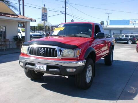 2003 Toyota Tacoma for sale at Williams Auto Mart Inc in Pacoima CA