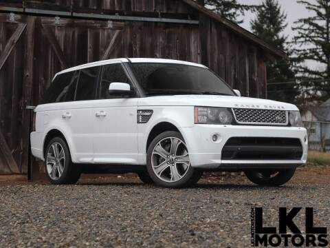 2012 Land Rover Range Rover Sport for sale at LKL Motors in Puyallup WA