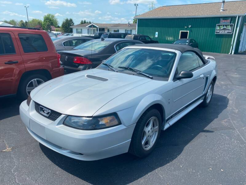 2002 Ford Mustang for sale at Pine Auto Sales in Paw Paw MI