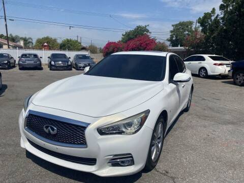 2014 Infiniti Q50 for sale at AutoHaus in Colton CA