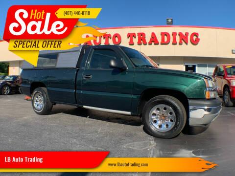 2005 Chevrolet Silverado 1500 for sale at LB Auto Trading in Orlando FL