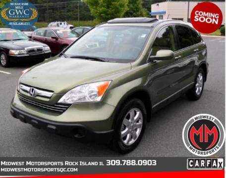 2007 Honda CR-V for sale at MIDWEST MOTORSPORTS in Rock Island IL