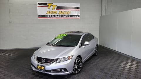 2013 Honda Civic for sale at TT Auto Sales LLC. in Boise ID