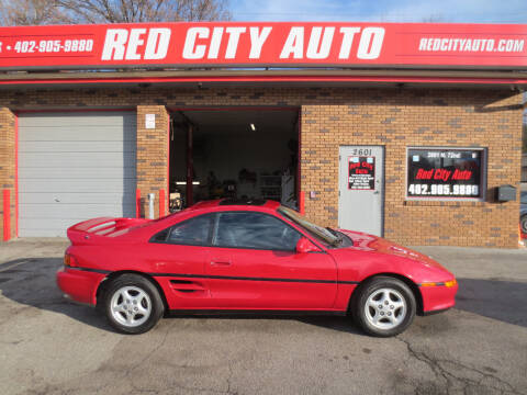 1991 Toyota MR2 for sale at Red City  Auto in Omaha NE