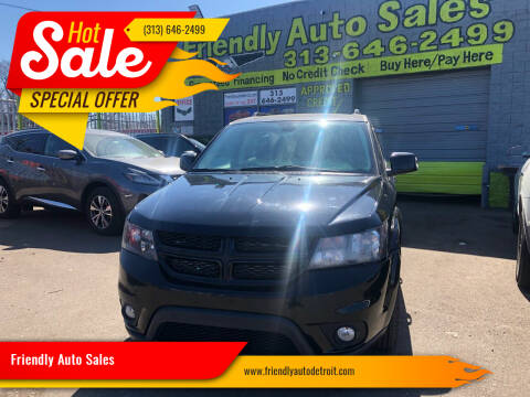 2019 Dodge Journey for sale at Friendly Auto Sales in Detroit MI