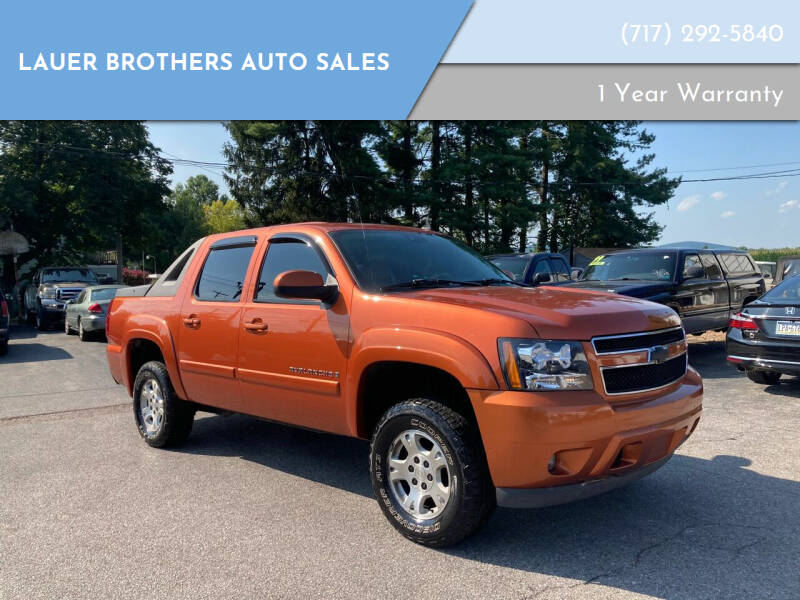 2007 Chevrolet Avalanche for sale at LAUER BROTHERS AUTO SALES in Dover PA