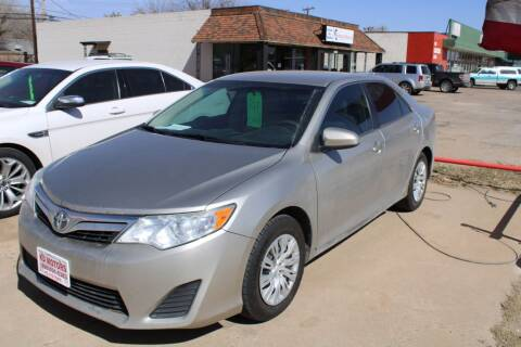 2013 Toyota Camry for sale at KD Motors in Lubbock TX