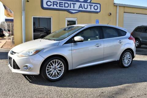 2012 Ford Focus for sale at Buy Here Pay Here Lawton.com in Lawton OK