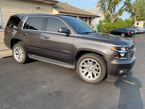 2016 Chevrolet Tahoe for sale at MARK CRIST MOTORSPORTS in Angola IN