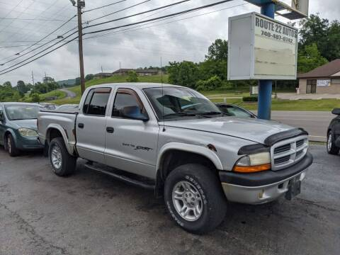 2001 Dodge Dakota for sale at Route 22 Autos in Zanesville OH