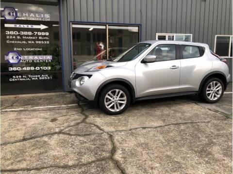 2016 Nissan JUKE for sale at Chehalis Auto Center in Chehalis WA
