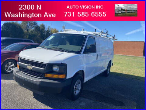 2014 Chevrolet Express Cargo for sale at Auto Vision Inc. in Brownsville TN