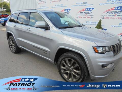 2016 Jeep Grand Cherokee for sale at PATRIOT CHRYSLER DODGE JEEP RAM in Oakland MD