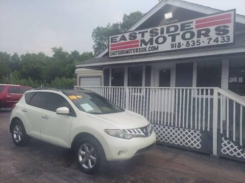 2010 Nissan Murano for sale at EASTSIDE MOTORS in Tulsa OK