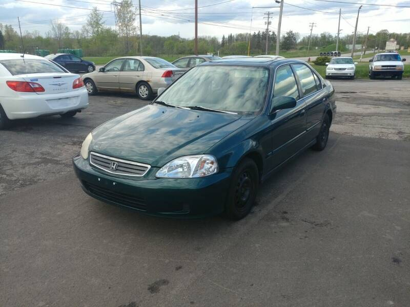 1999 Honda Civic for sale at RIDE NOW AUTO SALES INC in Medina OH