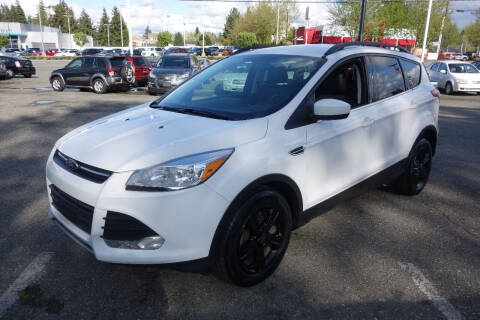 2015 Ford Escape for sale at Leavitt Auto Sales and Used Car City in Everett WA