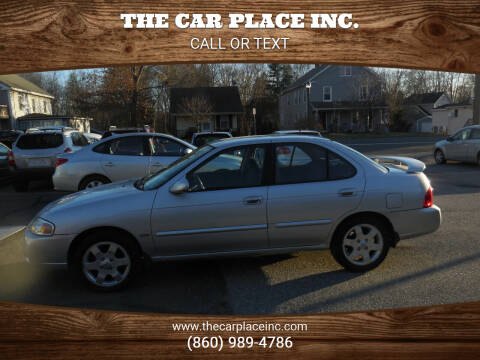 2006 Nissan Sentra for sale at THE CAR PLACE INC. in Somersville CT