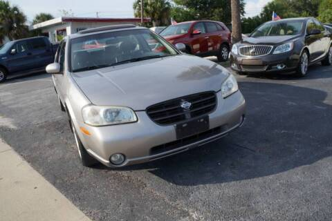 2001 Nissan Maxima for sale at J Linn Motors in Clearwater FL