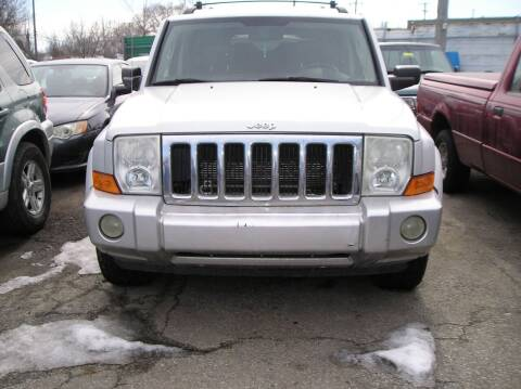 2007 Jeep Commander for sale at ZJ's Custom Auto Inc. in Roseville MI
