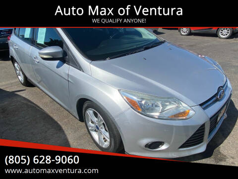 2014 Ford Focus for sale at Auto Max of Ventura in Ventura CA