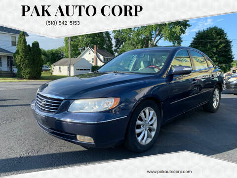 2007 Hyundai Azera for sale at Pak Auto Corp in Schenectady NY