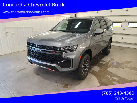 2021 Chevrolet Tahoe for sale at Concordia Chevrolet Buick in Concordia KS