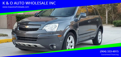 2013 Chevrolet Captiva Sport for sale at K & O AUTO WHOLESALE INC in Jacksonville FL