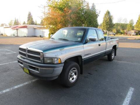 1996 Dodge Ram Pickup 1500 for sale at Triple C Auto Brokers in Washougal WA