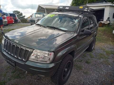 2002 Jeep Grand Cherokee for sale at Rocket Center Auto Sales in Mount Carmel TN