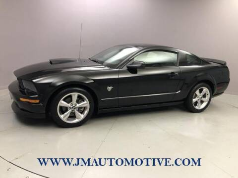 2009 Ford Mustang for sale at J & M Automotive in Naugatuck CT