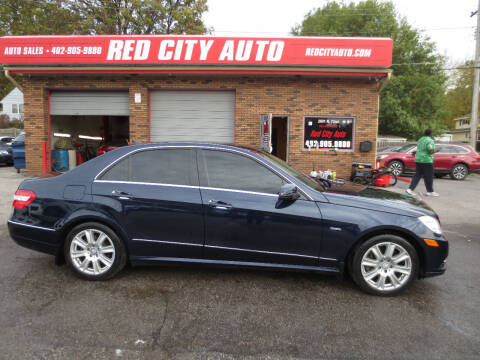 2012 Mercedes-Benz E-Class for sale at Red City  Auto in Omaha NE