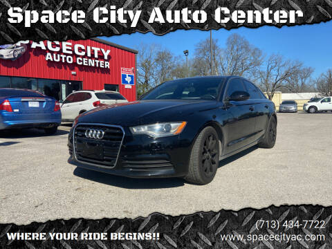 2014 Audi A6 for sale at Space City Auto Center in Houston TX