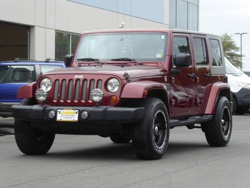 2007 Jeep Wrangler Unlimited for sale at Loudoun Motor Cars in Chantilly VA