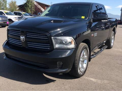 2013 RAM Ram Pickup 1500 for sale at Snyder Motors Inc in Bozeman MT