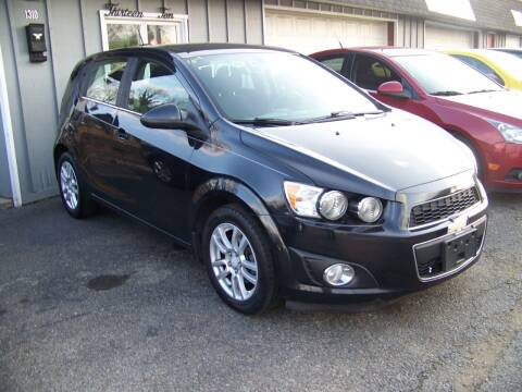 2015 Chevrolet Sonic for sale at Collector Car Co in Zanesville OH