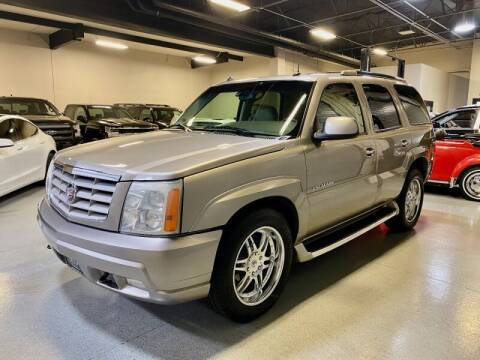 2003 Cadillac Escalade for sale at Motorgroup LLC in Scottsdale AZ
