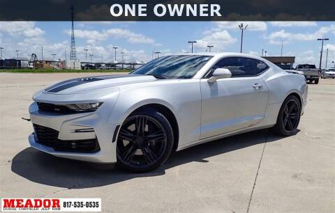 2019 Chevrolet Camaro for sale at Meador Dodge Chrysler Jeep RAM in Fort Worth TX