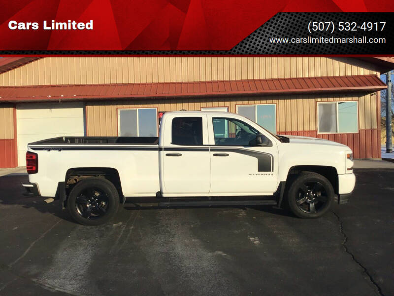 2016 Chevrolet Silverado 1500 for sale at Cars Limited in Marshall MN