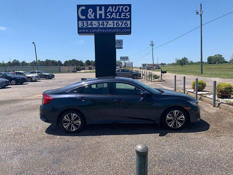 2018 Honda Civic for sale at C & H AUTO SALES WITH RICARDO ZAMORA in Daleville AL